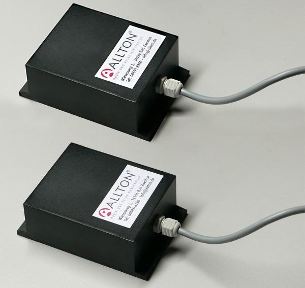 Klangübertrager, Kunststoffgehäuse, inkl. Anschluß
