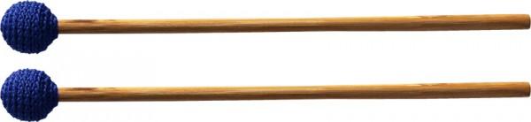 Wollkopfschlägel, hart, kurz, blau; für Marimba, Xylophon, Klangschalen