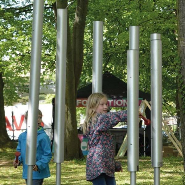 Outdoor-Musikinstrumentenset: Tubular Bells 7er Set