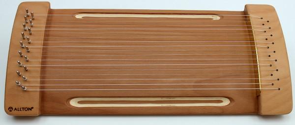 Allton Spür-Monochord, gewölbt, 18 Saiten, Tambura-Stimmung, geölt, ehemals ZM78C