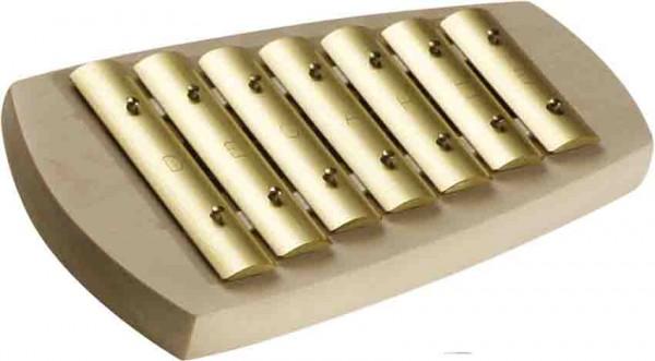 Auris Glockenspiel 7 Töne, D-pentatonisch