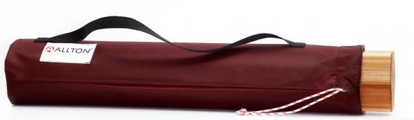 Taschen für Regenklangsäulen, Nylon bordaux, gefüttert mit Tragegriff