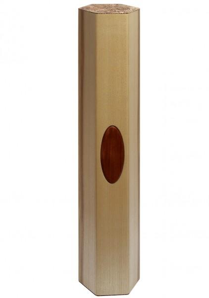 Regenklang-Säule, 20-22 Minuten, Sonderedition Regenstab, 88 cm, Ahorn/Pflaumeoval