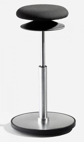 Ergohocker, Bodenwipper L, mit allseits beweglicher Sitzfläche (ERGOTOP-Technologie) von Löffler