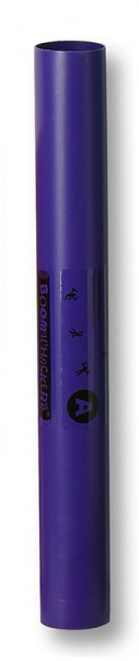 Einzelner Boomwhacker, Ton A, ca. 36,5cm lang, Ø ca. 4,5cm lila