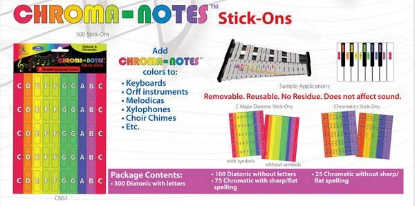 Chroma-Notes Stick