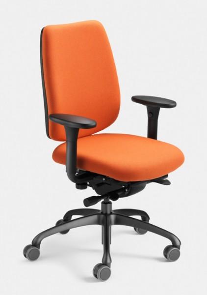 FIGO 2050 der Bürodrehstuhl mit Ergotop ohne Kopflehne, Stoffklasse A von Löffler