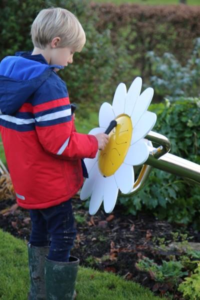 Outdoor Sonnenblume Hapi-Drum, zum einbetonieren