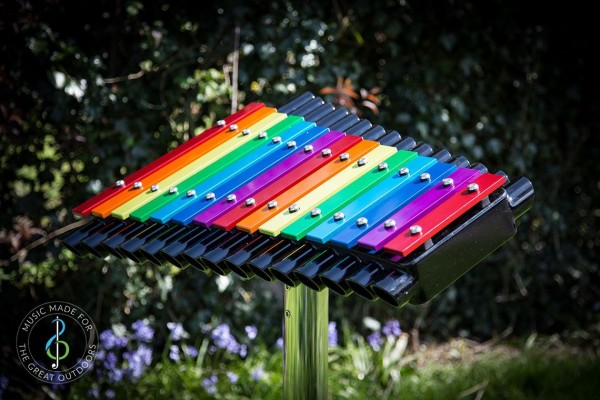 Outdoor-Instrument Cavatina zum Einbetonieren