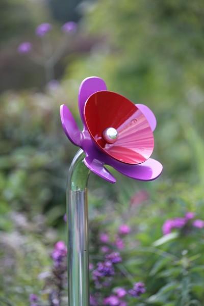 Outdoor Klangblume Metallglocke, Einzelblume zum einbetonieren