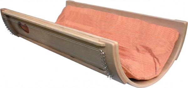 KL130H - Allton Klangwiege 130 cm lang, mit Heumatratze und Bezug