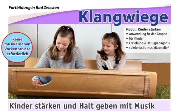 Klangwiege-Fortbildung, Modul: Kinder stärken und Halt geben mit Karola Hartmann